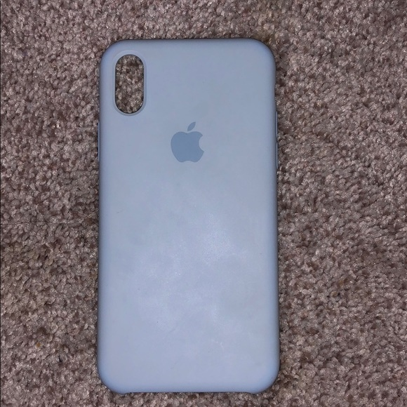 new style d7358 c24d9 Apple Accessories | Light Blue Silicone Iphone X Case | Poshmark